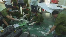 Chặn bắt vụ vận chuyển 200 kg ma túy đá tại Đắk Lắk
