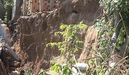 Đồng Tháp thiệt hại hơn 8,2 tỉ đồng do sạt lở