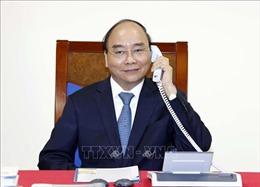 Thủ tướng Nguyễn Xuân Phúc điện đàm với Chủ tịch Ủy ban châu Âu