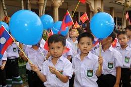 Trường song ngữ Lào - Việt Nam Nguyễn Du khai giảng năm học 2020-2021