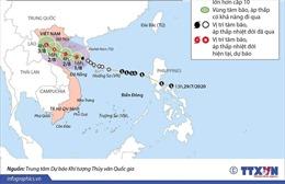 Cơn bão số 2 trên biển Đông