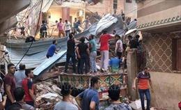 Sập nhà 5 tầng ở Ai Cập, ít nhất 8 người thiệt mạng