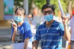 Các điểm thi ở địa phương thực hiện nghiêm túc phòng, chống dịch COVID-19