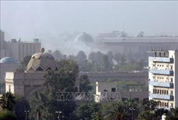Khu vực vùng Xanh ở thủ đô Baghdad lại bị tấn công bằng tên lửa
