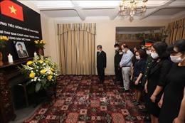 Lễ viếng nguyên Tổng Bí thư Lê Khả Phiêu tại Liên hợp quốc và Vương quốc Anh