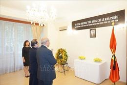 Lễ viếng và mở sổ tang nguyên Tổng Bí thư Lê Khả Phiêu tại Cộng hòa Séc