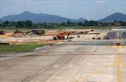 Rút ngắn tiến độ sửa chữa, nâng cấp đường băng sân bay quốc tế Nội Bài
