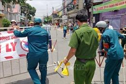 Dịch COVID-19: Dỡ bỏ phong tỏa tuyến đường Hồ Văn Đại, Đồng Nai