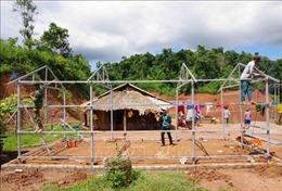 Dấu ấn tình quân dân trong những ngôi nhà mới ở Nậm Pồ