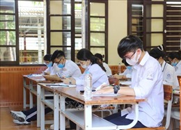 Điều động 11 cơ sở giáo dục đại học tham gia kiểm tra thi tốt nghiệp THPT đợt 2