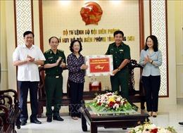 Trưởng ban Dân vận Trung ương Trương Thị Mai thăm và làm việc với lực lượng biên phòng tạiLạng Sơn
