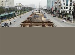 Hà Nội cấm nhiều phương tiện đi qua nút giao cầu vượt Hoàng Quốc Việt - Nguyễn Văn Huyên