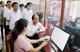 Tổ công tác của Thủ tướng Chính phủ làm việc tại Thái Nguyên về xây dựng Chính phủ điện tử