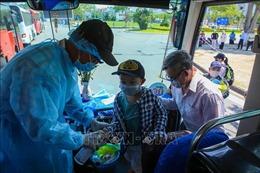 126 người dân tỉnhĐắk Nông bị kẹt ở Đà Nẵng được đưa về nơi cư trú
