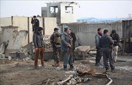 Tấn công liều chết bên ngoài doanh trại cảnh sát ở miền Đông Afghanistan
