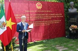 Long trọng tổ chức lễ kỷ niệm 75 năm Quốc khánh 2/9 tại Mexico