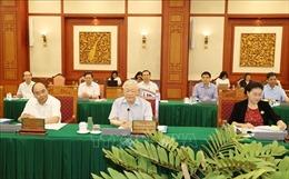Tổng Bí thư, Chủ tịch nước chủ trì buổi làm việc với Ban Thường vụ Thành ủy TP Hồ Chí Minh
