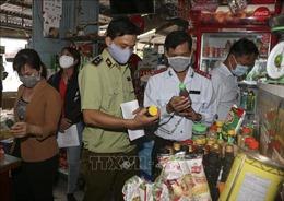 Kiểm tra các mặt hàng thực phẩm chay tại Hậu Giang