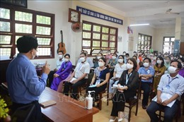 Kiểm tra công tác tổ chức thi tốt nghiệp THPT đợt 2 tại Đà Nẵng