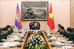 Nâng cao hiệu quả cơ chế hợp tác quốc phòng Việt Nam - Campuchia