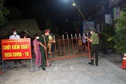 Hà Nam bỏ cách ly y tế tổ dân phố thôn 6 xã Nhật Tân, huyện Kim Bảng