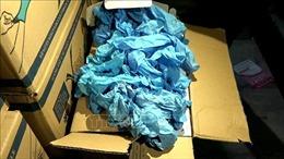 Điều tra vụ án lừa đảo bán găng tay y tế, chiếm đoạt 57 tỷ đồng