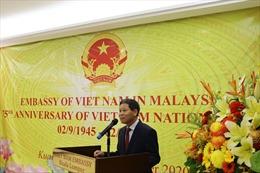 Trang trọng kỉ niệm 75 năm Quốc khánh 2/9 tại Malaysia