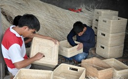 Tìm chỗ đứng cho sản phẩm mây tre đan Triệu Đề