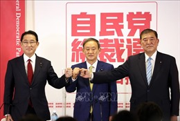 Đảng LDP bỏ phiếu bầu Chủ tịch mới thay thế Thủ tướng Shinzo Abe