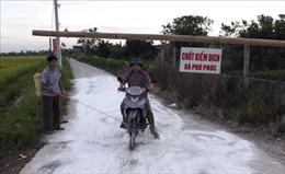 Hà Nam: Công bố dịch tả lợn châu Phi tại xã Phú Phúc