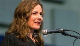 Tổng thống Trump có kế hoạch chọn bà Amy Coney Barrett làm Thẩm phán Tòa án Tối cao Mỹ