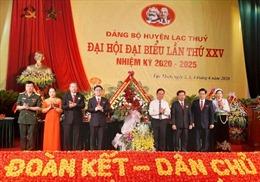 Kinh nghiệm, tiền đề tổ chức thành công Đại hội Đảng bộ tỉnh Hòa Bình lần thứ XVII