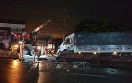 Tai nạn nghiêm trọng tại Tiền Giang, một người chết, 19 người bị thương