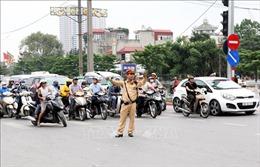 Phân luồng giao thông phục vụ Đại hội Đảng bộ thành phố Hà Nội