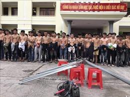 Khởi tố bị can, bắt tạm giam 44 đối tượng trong vụ 'hỗn chiến'tranh giành đất