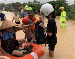 Trung Trung Bộ mưa lũ diễn biến phức tạp, nguy cơ cao xảy ra lũ quét, sạt lở đất vùng núi