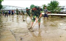 Thừa Thiên - Huế huy động lực lượng tổng vệ sinh môi trường sau mưa lũ