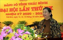 Đồng chí Tòng Thị Phóng: Thái Bình cần coi trọng hơn nữa 'tam nông'