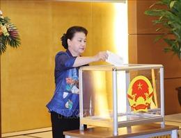 Chủ tịch Quốc hội dự Lễ phát động ủng hộ đồng bào vùng lũlụt