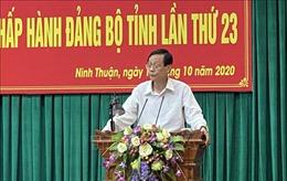 Ninh Thuận rút kinh nghiệm đại hội đảng bộ cấp trên cơ sở