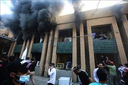 Chính phủ Iraq lên án vụ tấn công vào trụ sở của đảngDân chủ người Kurd