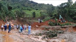 Sạt lở đất ở Hướng Hóa - Quảng Trị: Đã tìm được 11 thi thể; trực thăng sẵn sàng vào khu vực bị cô lập