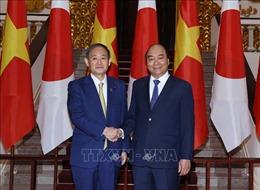 Truyền thông Nhật Bản đưa tin về chuyến thăm Việt Nam của Thủ tướng Yoshihide Suga
