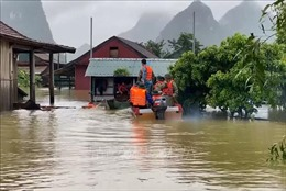Thiết lập mạng lưới cấp phát lương thực, thực phẩm cho người dân vùng lũ lụt