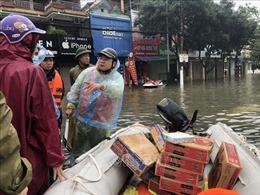 Chủ động cung ứng đủ nguồn hàng trong mưa lũ