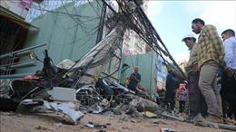 Lâm Đồng: Xe tải 'không người lái'gây tai nạn liên hoàn