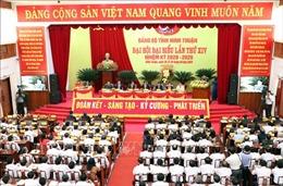 Khai mạc Đại hội Đảng bộ tỉnh Ninh Thuận lần thứ XIV