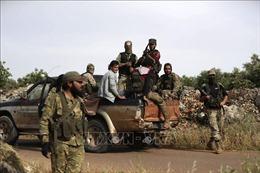 Quân nổi dậy ở Syria tấn công đáp trả lực lượng ủng hộ chính phủ