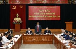 Xây dựng Đảng bộ Khối các cơ quan Trung ương trong sạch, vững mạnh