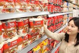 Mỳ ăn liền của Hàn Quốc được ưa chuộng trong dịch COVID-19
